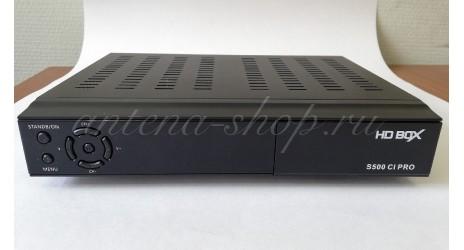 HD BOX S500 CI+ PRO