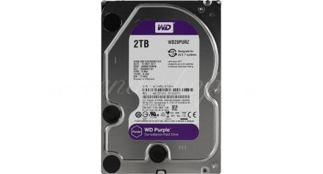 """WD Purple WD20PURZ, 2Тб, HDD, SATA III, 3.5"""""""