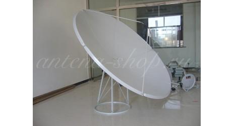 Спутниковая антенна 2,40 см прямофокусная